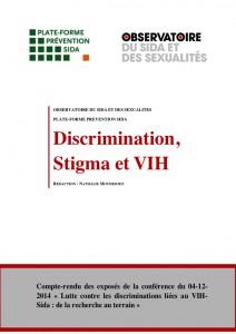 Lutte contre les discriminations liées au VIH-Sida : de la recherche au terrain